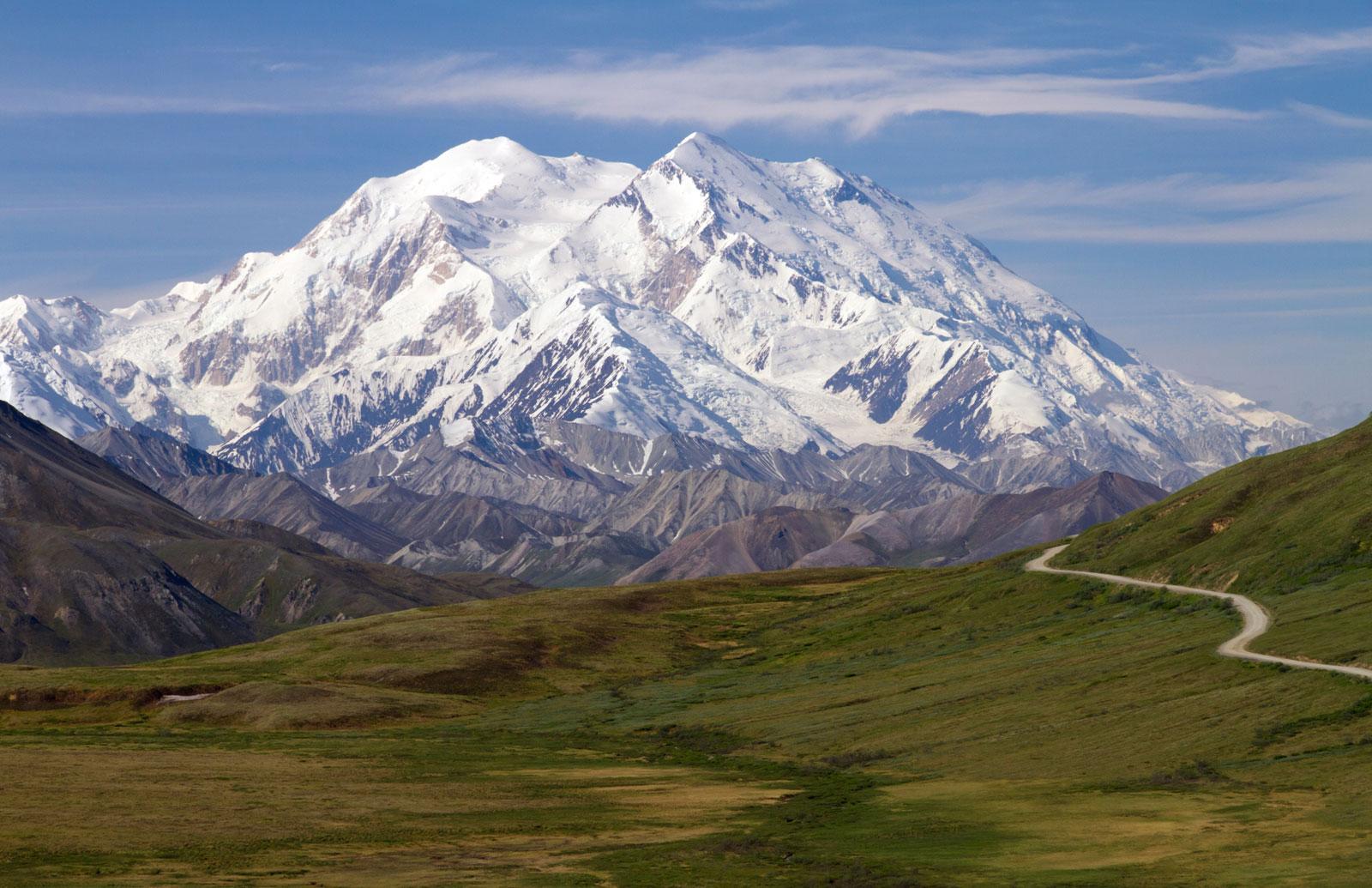 Denali McKinley 6.190m, Alaska.